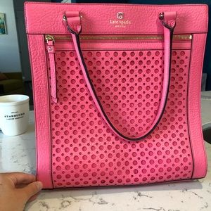 kate spade • hot pink • large bag • used once